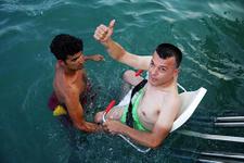 Engelliler artık denize uzaktan bakmayacak