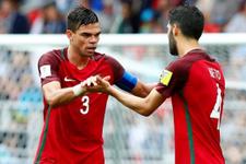 Portekiz Meksika maçı fotoğrafları