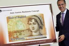 İngiltere parasına Elizabeth'ten sonra ikinci kadını taşıyor.