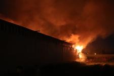 Adana'da mobilya fabrikasında çıkan yangın söndürüldü