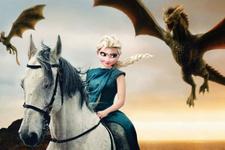 Disney Karakterleri Game Of Thrones'da