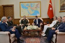 Genelkurmay Başkanı Akar'dan 'hayırlı olsun' ziyareti
