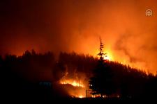 İzmir'deki orman yangını söndürülemiyor