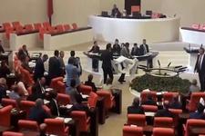 CHP'li Tanrıkulu'dan Meclis'de protesto