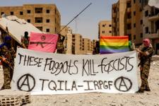 Suriye'de eşcinsel ordusu kuruldu hamisi bakın kim?