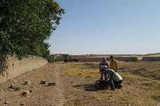 Nusaybin'de mezarlıkta bulundu! Suriye'ye kadar uzanıyor