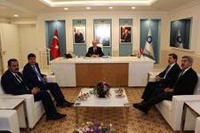 Turizm Bakanı Kurtulmuş'tan Başkan Türel'e ziyaret