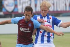 Trabzonspor'un maçı sessiz bitti
