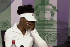 Venus Williams göz yaşlarına hakim olamadı