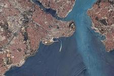 İlk yerli uydu RASAT İstanbul'u böyle görüntüledi