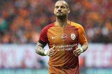 Galatasaray'dan Sneijder'e büyük şok!