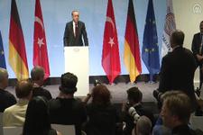 Erdoğan'dan Alman gazeteciye müthiş kapak!