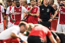 Yere yığılmıştı! Ajaxlı futbolcudan haber var
