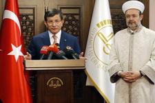 Davutoğlu'ndan içinde 'fitne' geçen Mehmet Görmez açıklaması