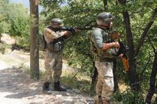 Tunceli'de hareketli saatler bölge ateş altına alındı