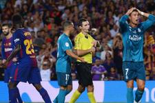 Hakemi iten Ronaldo'ya 5 maç ceza