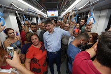 Başkan Türel Antray'da yolculuk etti