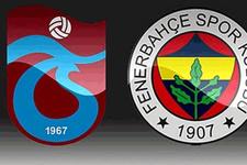 Fenerbahçe ile Trabzonspor maçı öncesi flaş gelişme