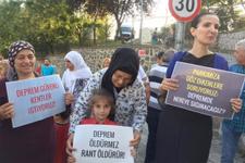 Üsküdar Ünalan'da park ve deprem alanı skandalı