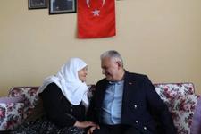 Başbakan Yıldırım'dan şehit ailesine taziye ziyareti