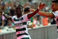 Bursaspor 3 puanı 3 golle aldı
