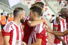 Sivasspor Yeni Malatyaspor'a şans tanımadı
