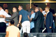 Trabzonsporlu futbolculara tribün yasak