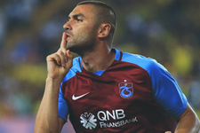 Trabzonspor'a Burak Yılmaz'dan iyi haber