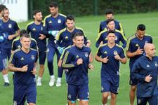 Fenerbahçe'de Vardar maçı hazırlıkları tamamladı