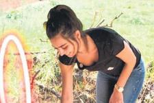 Köylü güzeli Amine! Salça kaynatıp, meyve topladı