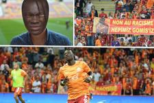 Galatasaray taraftarlarından Gomis'e destek