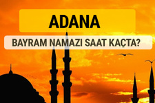 Adana Kurban bayramı namazı saati - 2017