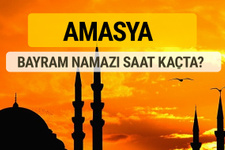 Amasya Kurban bayramı namazı saati - 2017