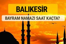 Balıkesir Kurban bayramı namazı saati - 2017
