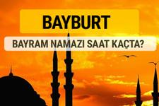 Bayburt Kurban bayramı namazı saati - 2017