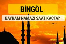 Bingöl Kurban bayramı namazı saati - 2017