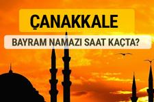 Çanakkale Kurban bayramı namazı saati - 2017