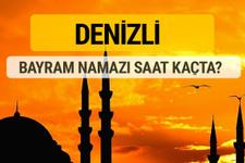 Denizli Kurban bayramı namazı saati - 2017