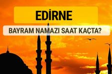 Edirne Kurban bayramı namazı saati - 2017