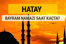 Hatay Kurban bayramı namazı saati - 2017