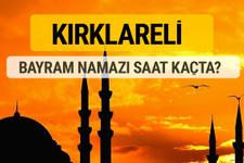 Kırklareli Kurban bayramı namazı saati - 2017