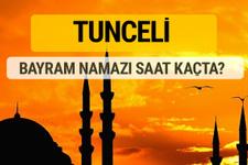 Tunceli Kurban bayramı namazı saati - 2017