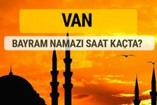 Van Kurban bayramı namazı saati - 2017