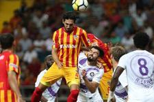 Kayserispor Osmanlıspor maçı sonucu ve özeti