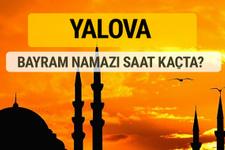 Yalova Kurban bayramı namazı saati - 2017