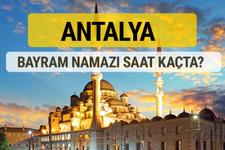 Antalya bayram namazı saat kaçta 2 rekat nasıl kılınır?