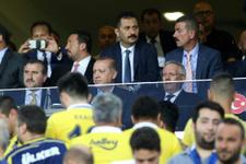 Cumhurbaşkanı Erdoğan ve Spor Bakanı Fenerbahçe maçında