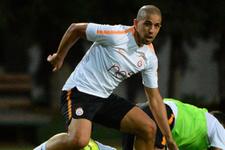 Galatasaray'da Feghouli sevinci