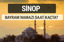 Sinop bayram namazı saat kaçta 2017 ezan vakti