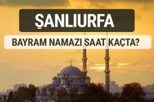Şanlıurfa bayram namazı saat kaçta 2017 ezan vakti